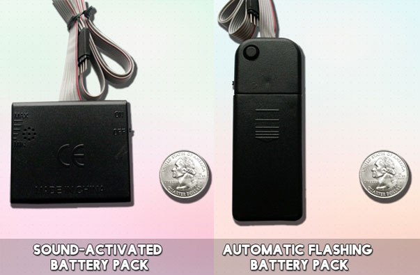 Sound activated and Automatic Flash