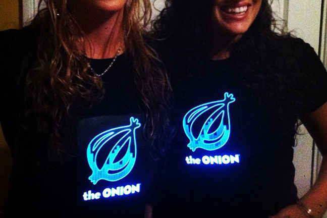 Flashing Onion T-shirts