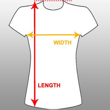 Female light up shirt
