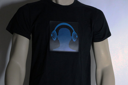 Headphones Shirt Off