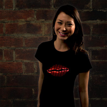 Lips LED Shirt
