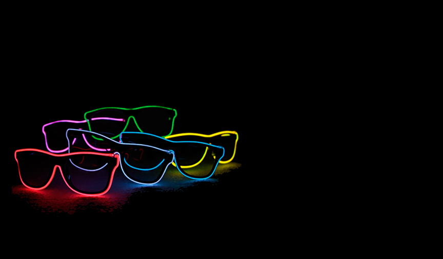 customlightupsunglasses