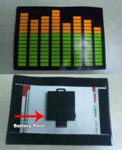 Wireless EL Panel