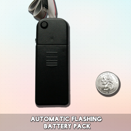 Automatic Flash Light Up Shirt