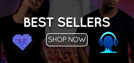 Light Up T-shirts Best Sellers