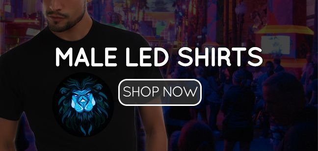 Male LED Shirts