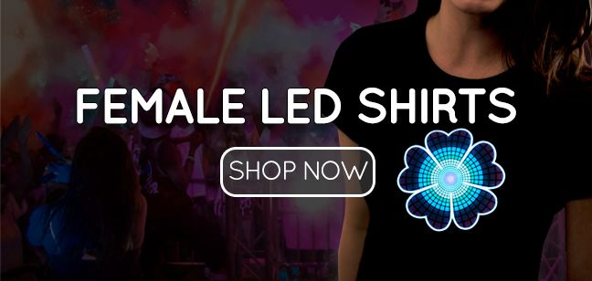 Female LED Shirts