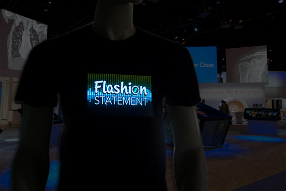 Sample Flashion LED tee