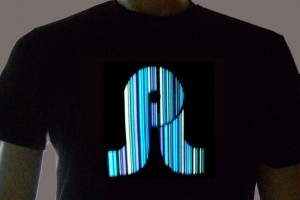 Pretty Lights Light Up Shirt Sample Photo