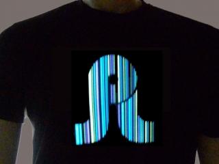 Pretty Lights Light Up Shirt Sample Photo