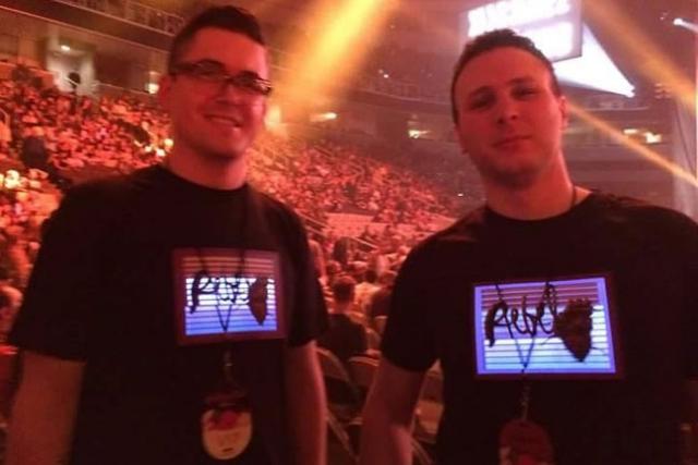 Madonna Fans Custom LED Shirts Photo