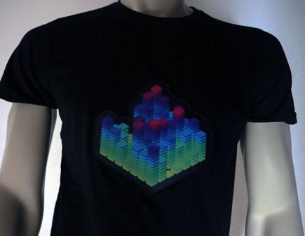 3D Cube Shirt Off
