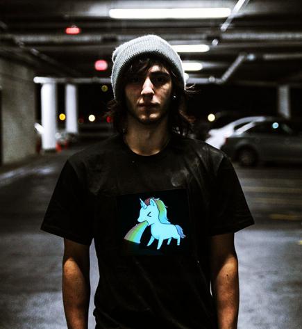 Unicorn LED Shirt