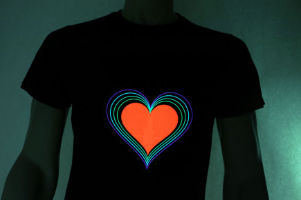 Rainbow Heart On