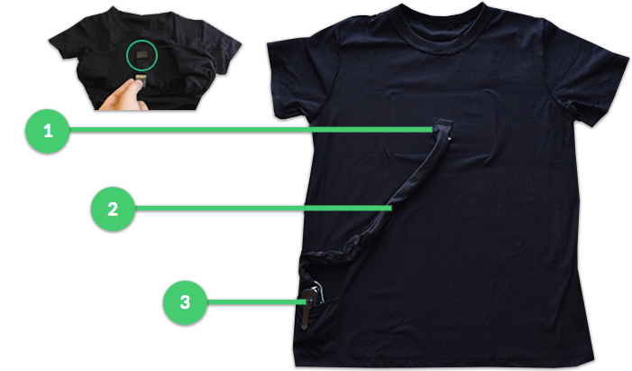diagram of inside out t-shirt