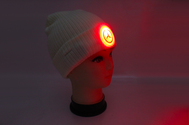 Glowing Custom Beanie Hat