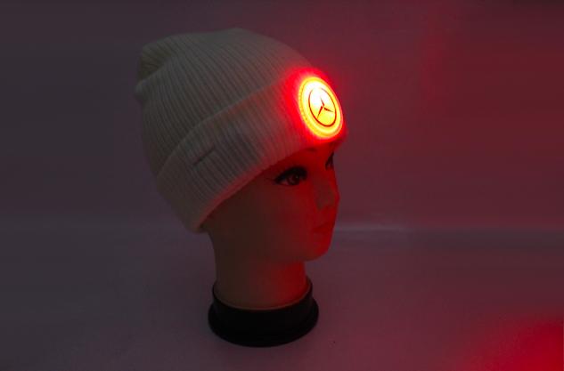Glowing Custom Beanie Hat