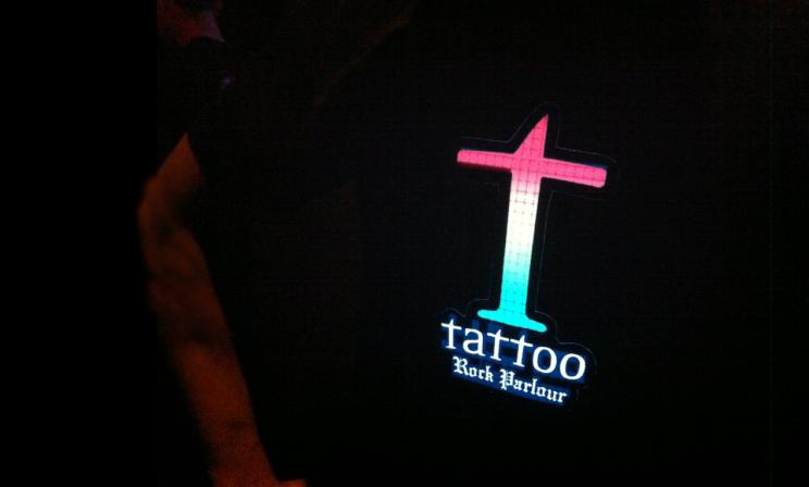 Tattoo LED T-shirt