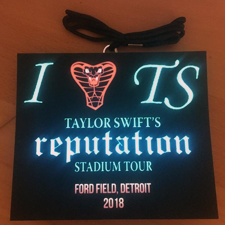 Taylor Swift Fan LED Light Up Lanyards