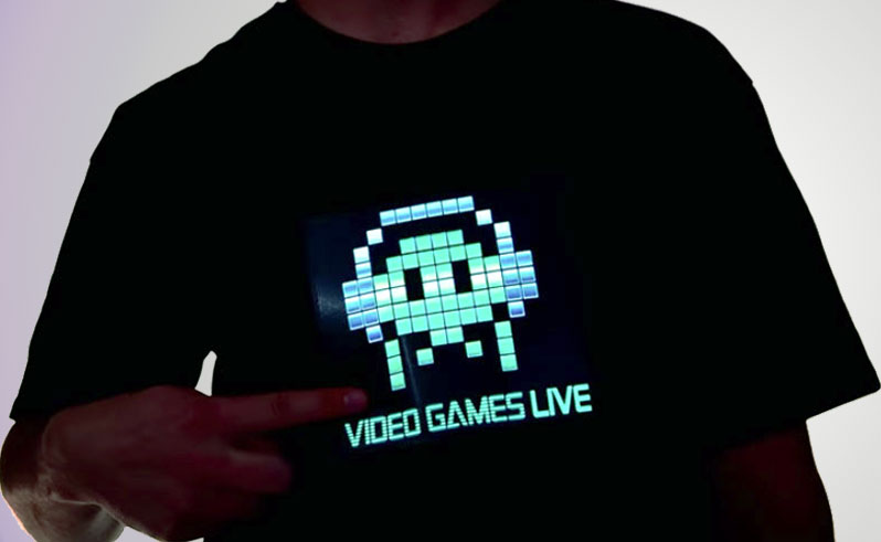 Video Game Light up T-shirt