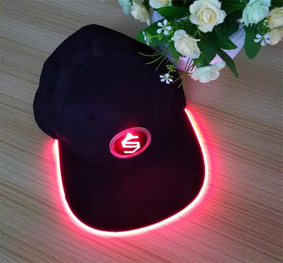 Custom glow LED Hat