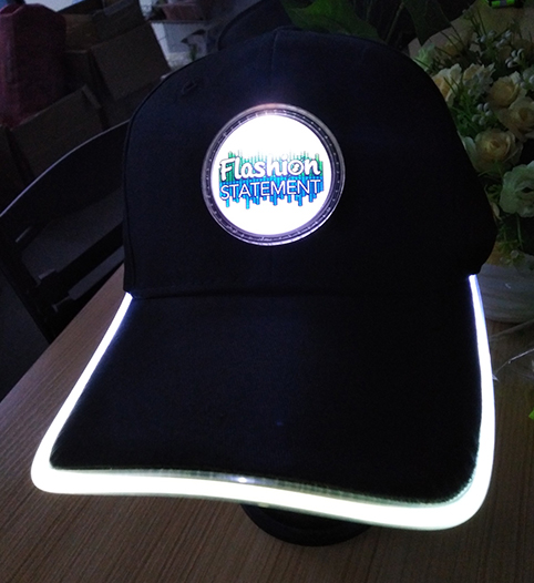 White LED Hat