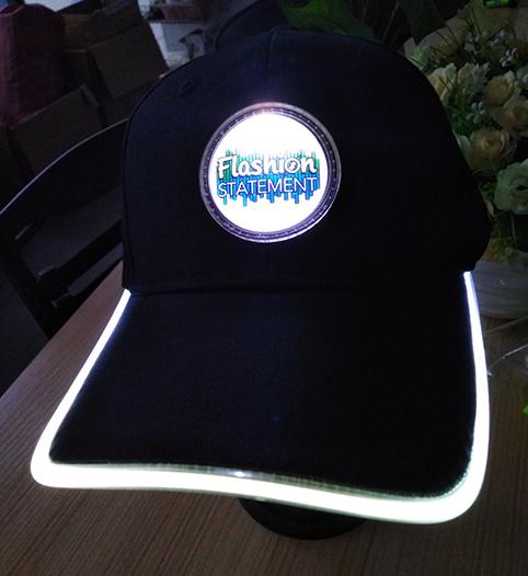 White LED Hat
