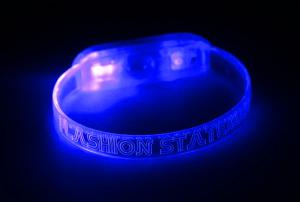 Blue LED Bracelet