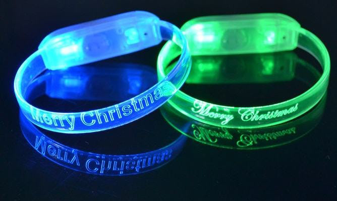 Custom Engraved LED Wristbands