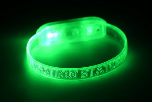 Green Light up Wrist Band