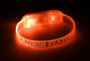 Orange LED Wristband