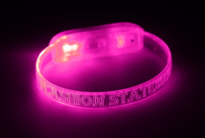 Pink Light Up Bracelet