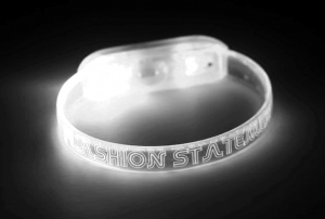 White LED Wristband