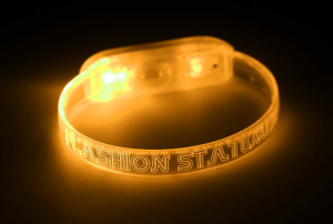 Yellow LED Wristband