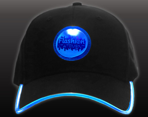 Blue LED Hat