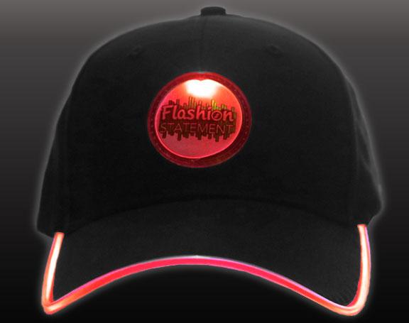Red LED Hat