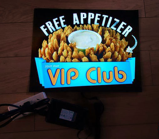 VIP Club EL Poster Example