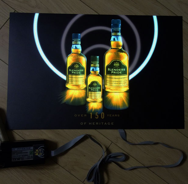 Alcohol Advertisement EL Poster Example