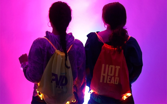 Hot Head Custom LED Bags