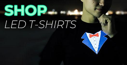 LED T-shirt Shop Category
