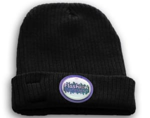 Black color LED Beanie
