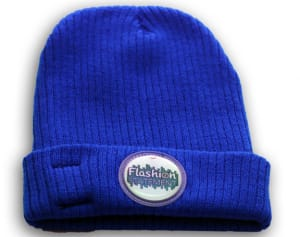 Blue color LED Beanie Hat