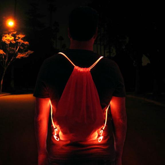 LED Drawstring Bags