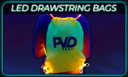 LED Drawstring Bag Product Image