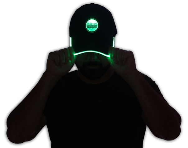 LED blinking baseball hats