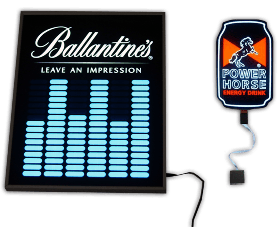 Customized Light Up LED Poster and Patches
